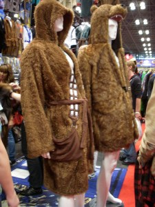 You could buy a wookie bath robe!
